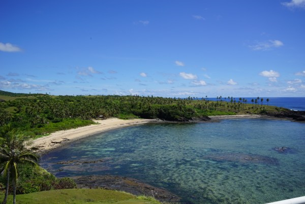 View of Kumagat Beach from Lolong Point Lighthouse