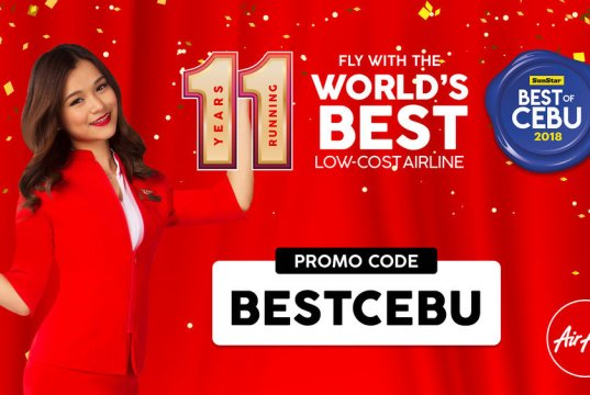 AirAsia offers special fares at Best of Cebu Travel Fair 2019