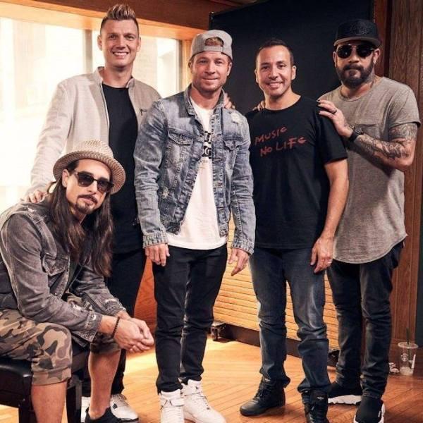 Backstreet Boys photo via FB Page