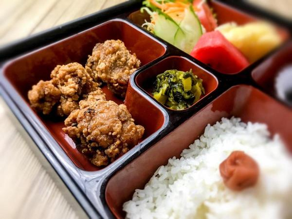 Chicken Karaagi is one of the choices for the mini bento boxes priced at Php350 (Vat inclusive)