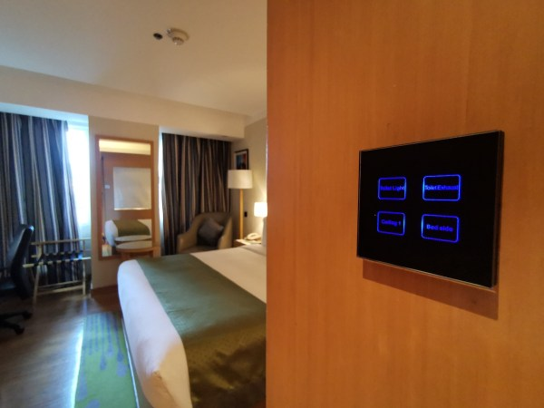 Light Switch of Holiday Inn Baguio City