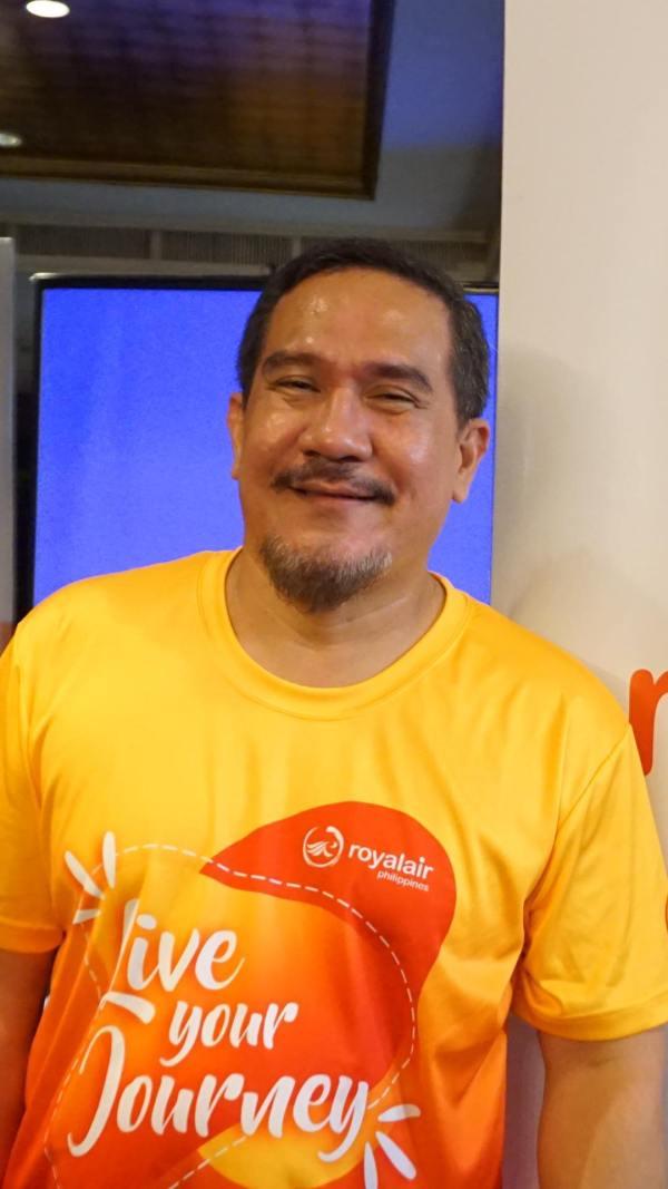 Royal Air Philippines CEO Ed Novillas