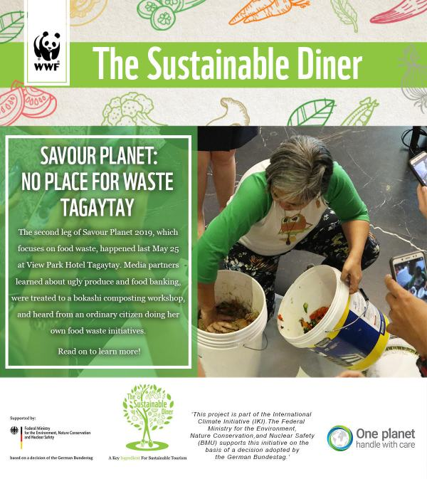 WWF The Sustainable / Responsible Diner