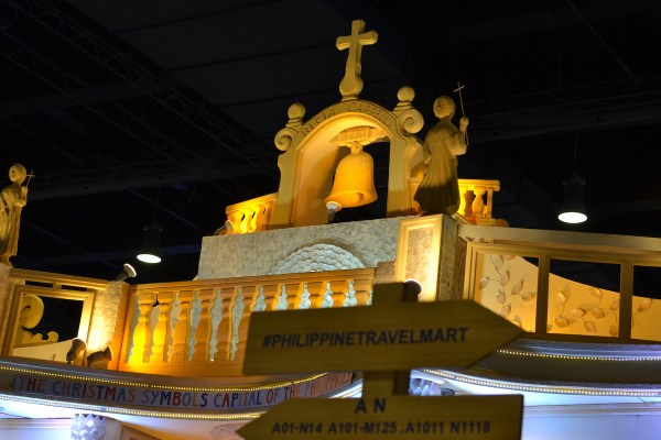 A Capiz church installation within the SMX Complex for the Philippine Travel Mart