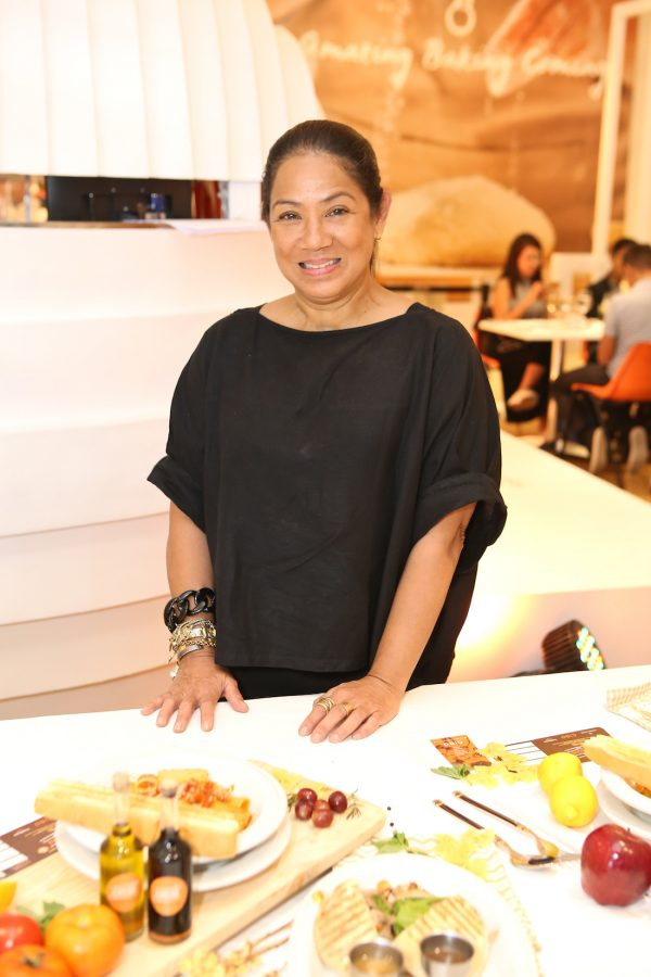 Chef Margarita Fore?s at the Cibo22 event