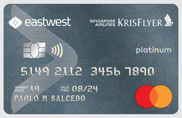EastWest and Singapore Airlines unveil new credit card designed for travelers