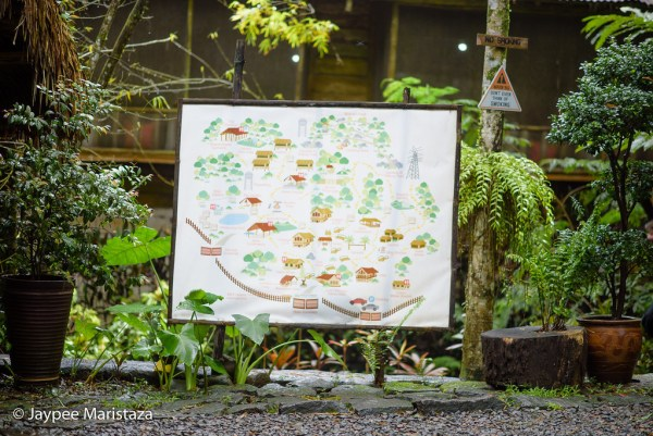 The map of Mount Purro Nature Reserve. To get everyone know where to go, what to do, etc. This welcomes you upon entering. © Jaypee Maristaza