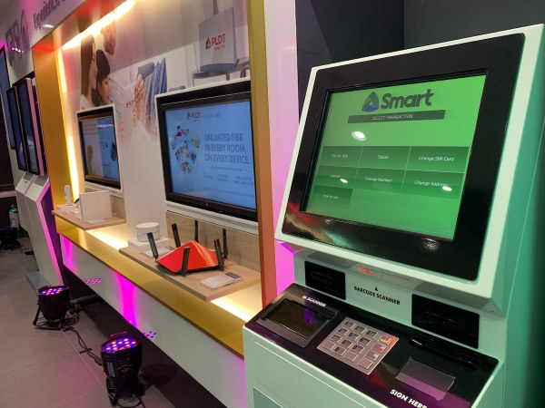 PLDT and Smart InfoTouch Booth