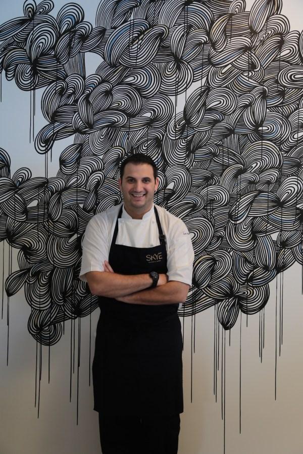 Lee Adams SKYE Roofbar and Dining's Head Chef