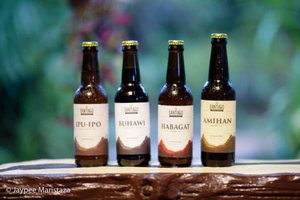 The four types of beer Santiago Malt and Brewery have. Ipu-Ipo, Buhawi, Habagat and Amihan. Aren't the names so familiar to us? © Jaypee Maristaza