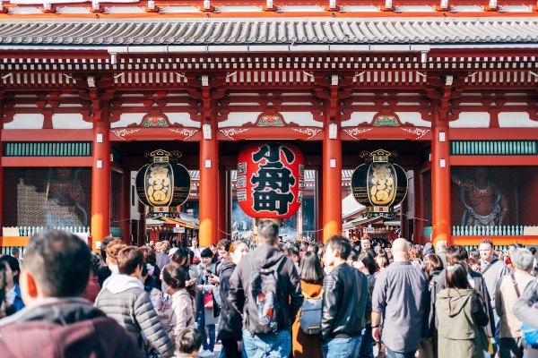 Senso-ji in Tokyo photo by 1986-0125 via nsplash