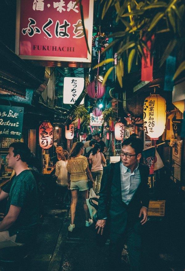 Shinjuku Omoide Yokocho by Chris Yang via Unsplash