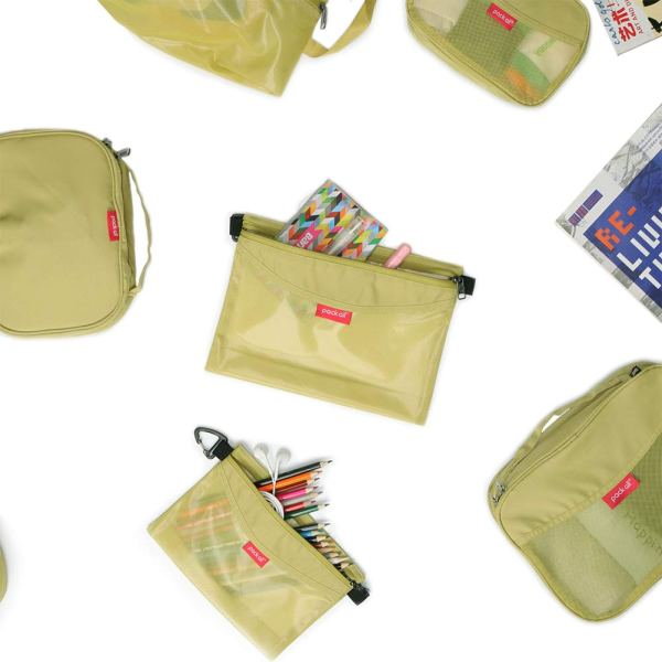 pack all All-Purpose Waterproof Material Travel Packing Pouches