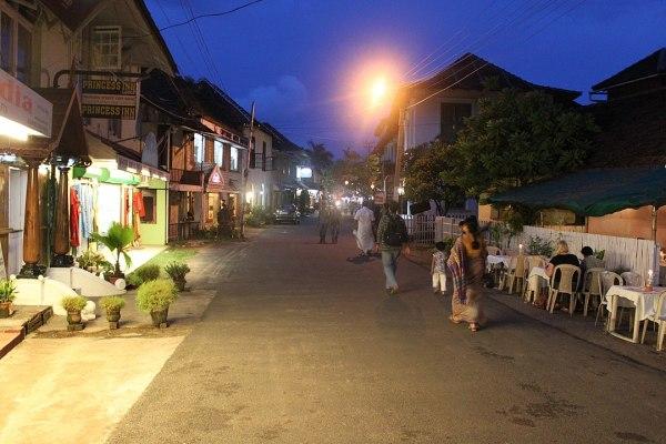 princess street in Fort Kochi India photo via Wikipedia CC