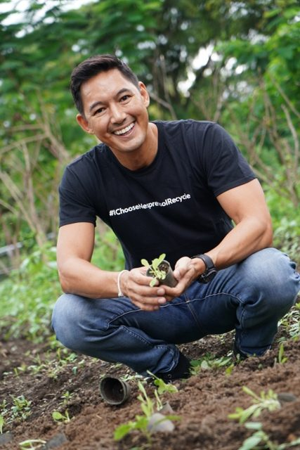 WWF Philippines National Ambassador and Sustainability Advocate, Marc Nelson