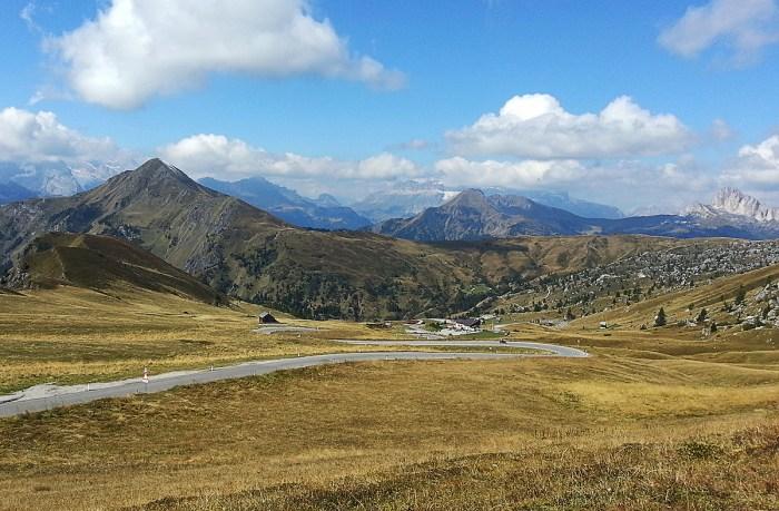 Beyond that mountain range is Austria.