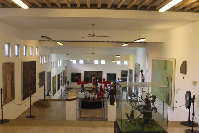 Gallery in Pinto Art Museum