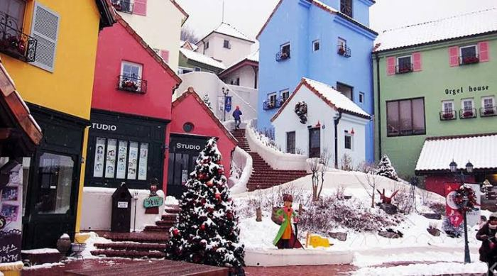 Petite France in Korea photo via KLOOK