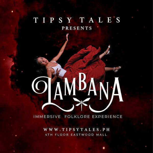 Tipsy Tales is a new _immersive theater_ attraction at Eastwood Mall in Libis, Quezon City