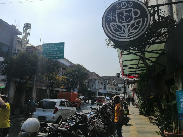 Braga Street in daylight