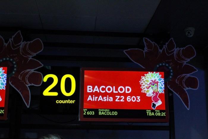 Manila to Bacolod AirAsia Flight