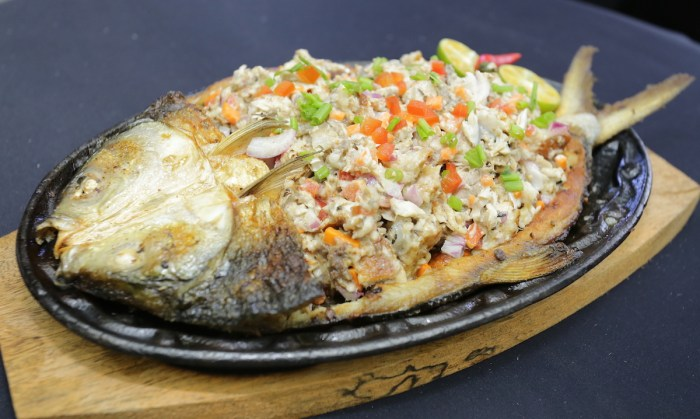Sizzling Bangus Sisig by Chef Gerry Austria