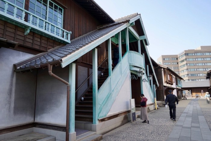 Chief Factor's Residence Exterior in Dejima