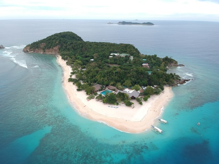 Dimakya Island, home of Club Paradise Palawan