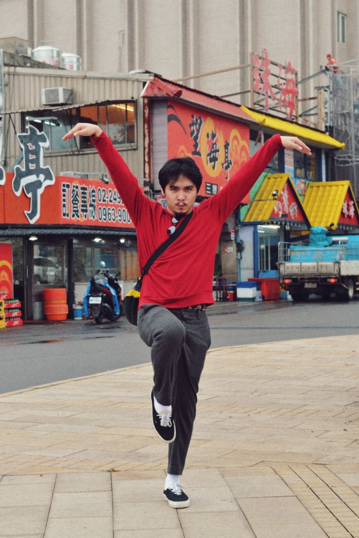 Josh trying to live his KungFu dreams