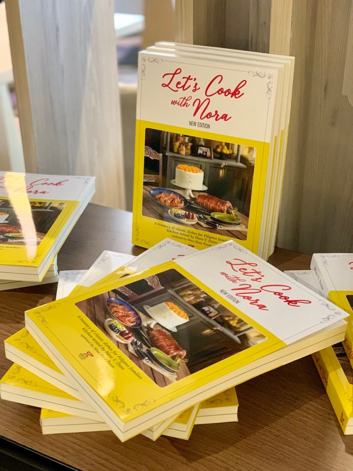 Let's Cook with Nora Cookbook launch in Iloilo City