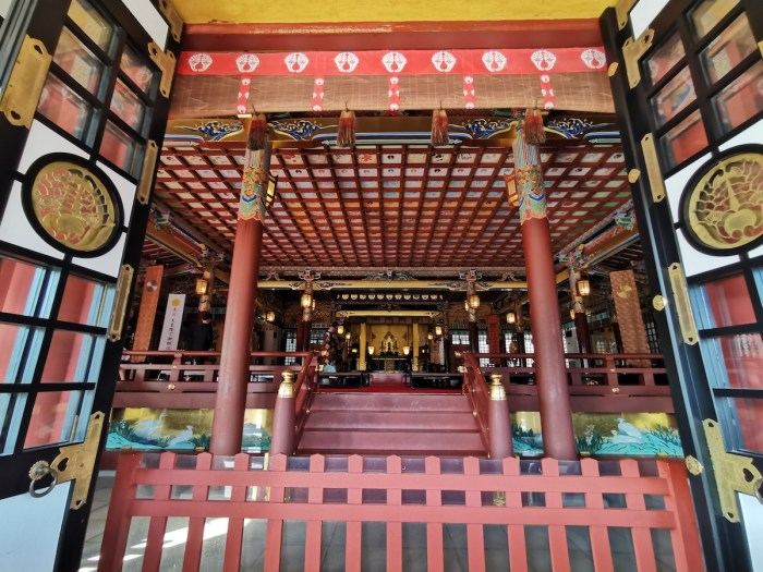 Prayer Hall of Yutoku Inari Shrine