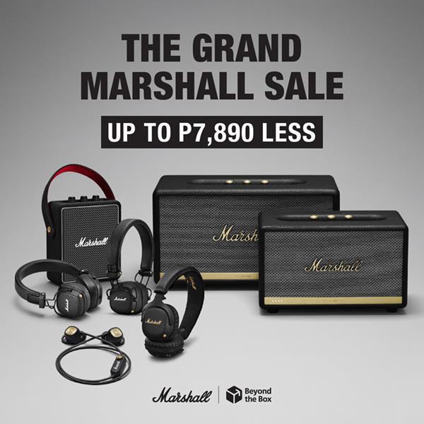 La gran venta de Marshall