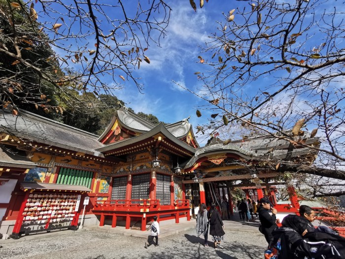 Yutoku Inari Shrine Main Hall