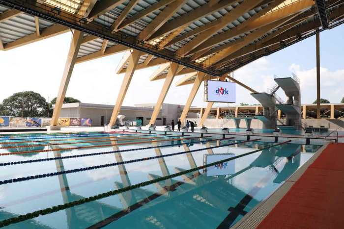 Aquatics Center (photo credit: BCDA)