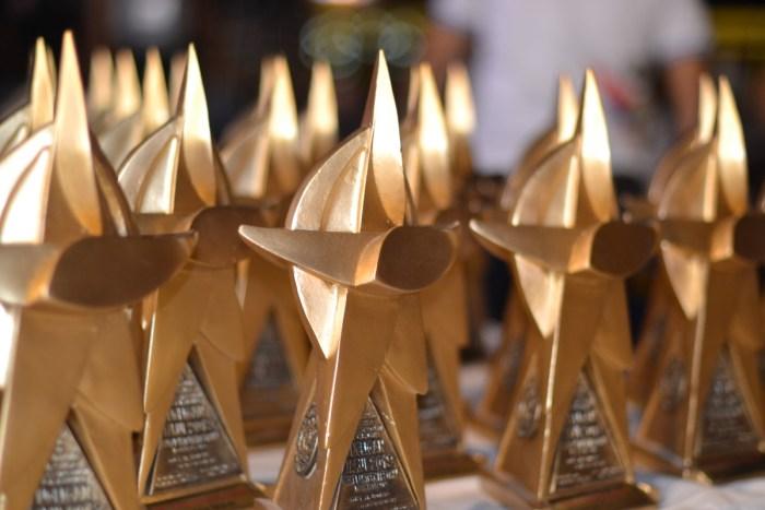 Giant Lantern Festival 2019 trophies