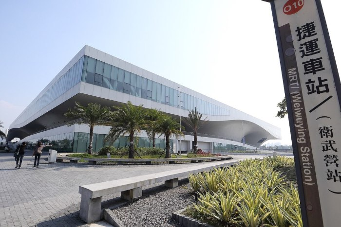 National Kaohsiung Center for the Arts photo by MiNe via Wikipedia CC