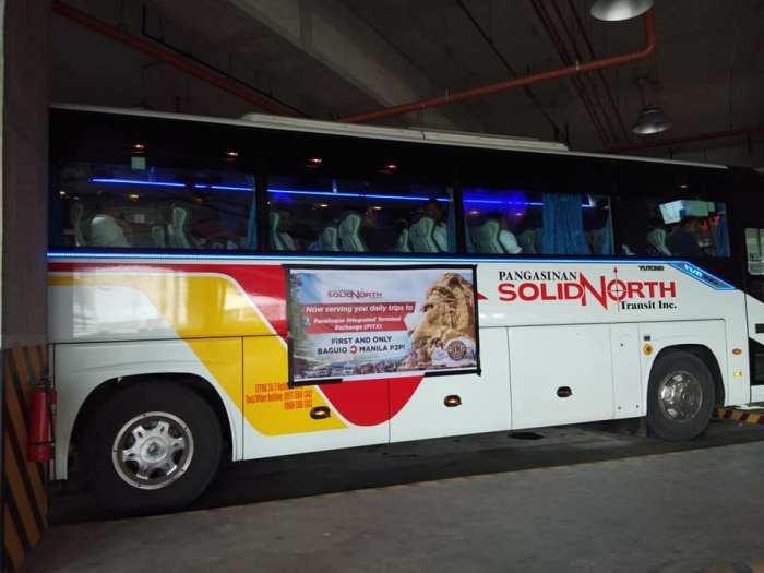 Travel to Baguio City Through A Premium Point-to-Point Bus