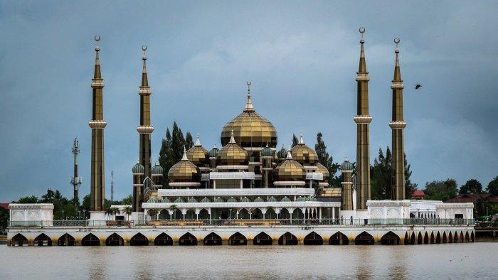 Crystal Mosque in Terengganu
