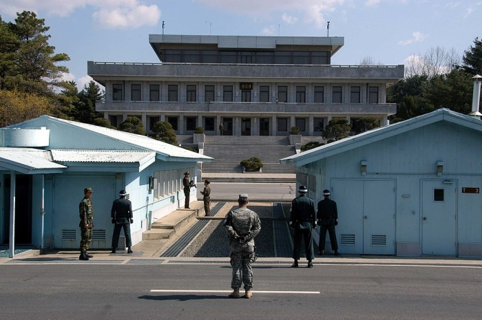 Korean Demilitarized Zone by DriedPrawns via Wikipedia CC