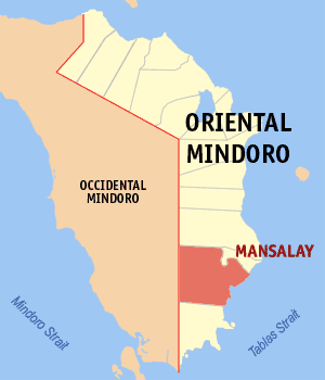 Map of Mansalay by Mike Gonzalez via Wikipedia CC