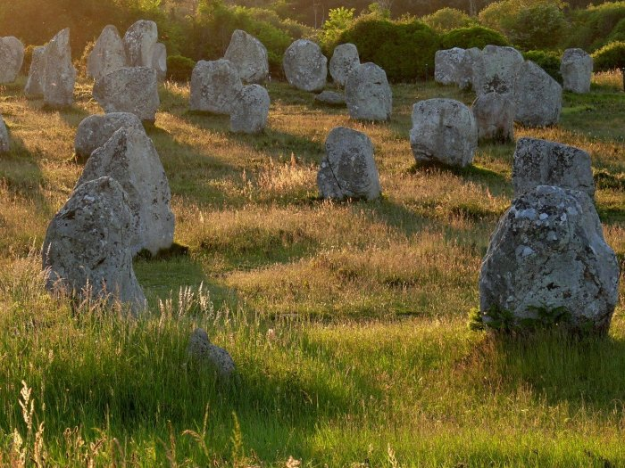 Mysterious Standing Stones of Carnac