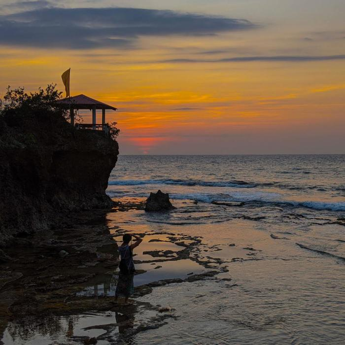 Sunset at Surip Beach