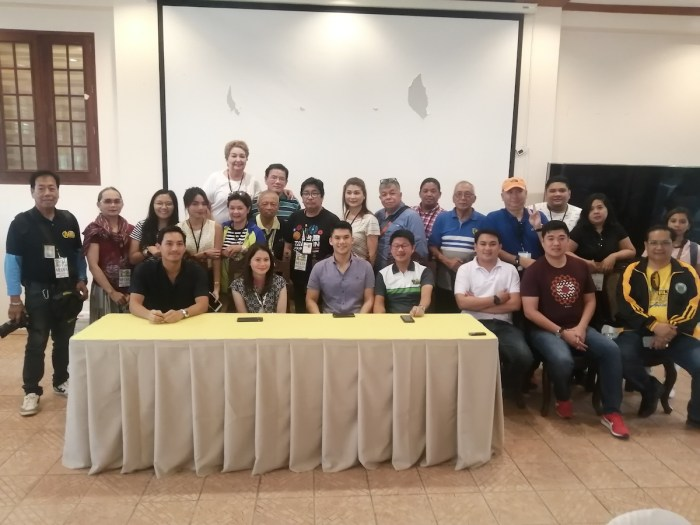 "Meet and greet with Department of Tourism Secretary Bernadette Romulo-Puyat and Vice Governor Faustino ""Bojie"" Dy lll with National and Local media."