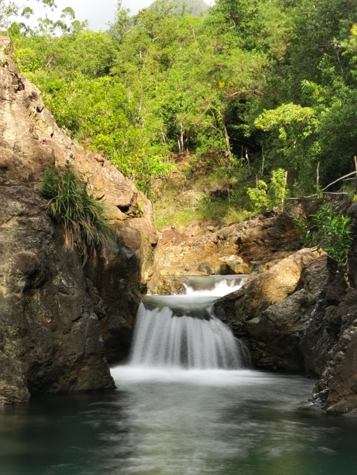 Dagubdob Falls in San Fernando Romblon