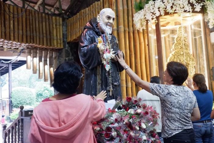Healing Mass at Parish and National Shrine of Saint Padre Pio photo via FB Page