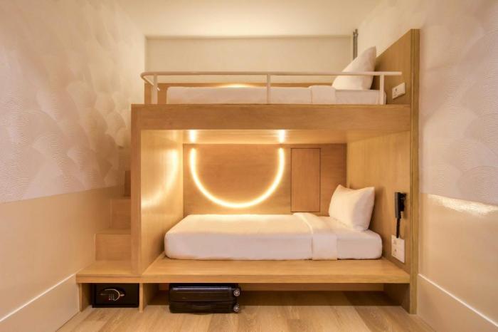 Rooms at Momo's Kuala Lumpur Hotel