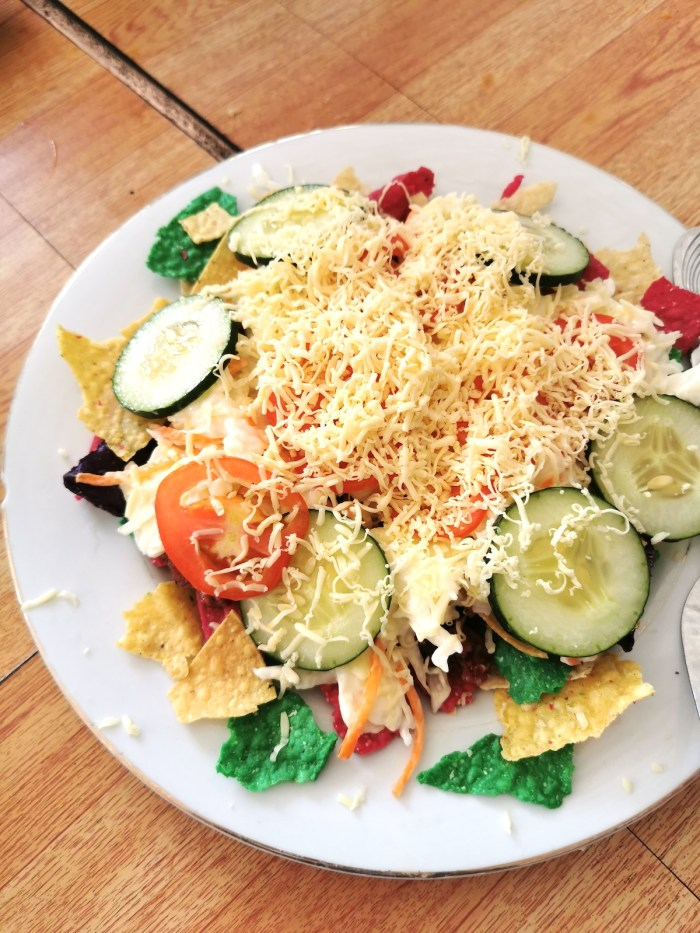 Tacos at Ranchers Bed and Breakfast Sibuyan