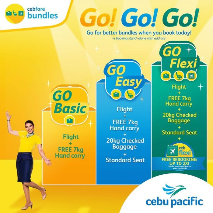 Cebu Pacific offers new value-for-money add-on bundles