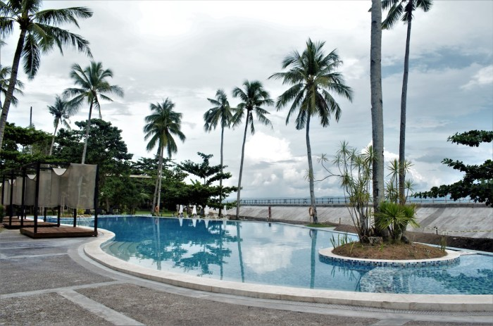The Oriental Leyte poolside
