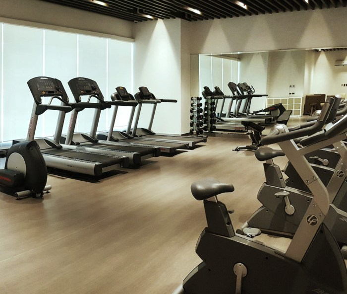 Home.fit Mini-Suites-Fitness-Gym Hotel Review: The Mini Suites Eton Tower in Makati City